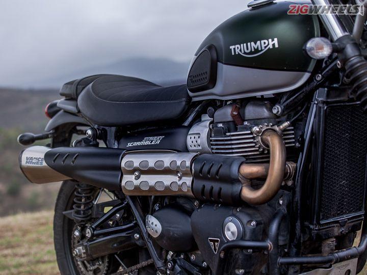 2019 Triumph Street Scrambler: Road Test Review - ZigWheels