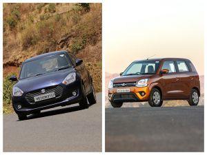 Maruti Suzuki Swift And WagonR Get BS6 Engines And Safety Updates