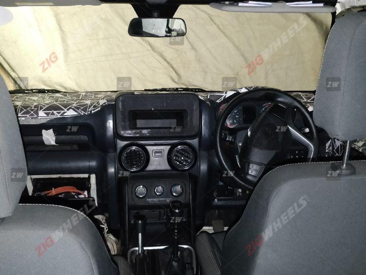 Jeep Inside Mahindra Thar 2020 Interior
