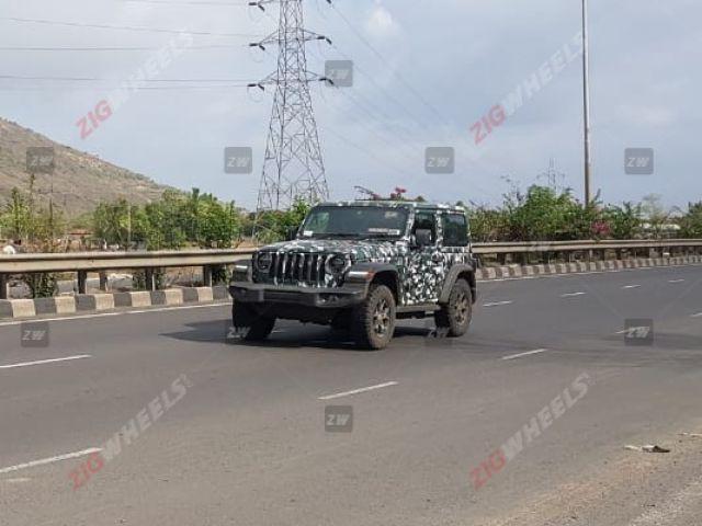 2019 Jeep Wrangler Rubicon Spied Yet Again! - ZigWheels