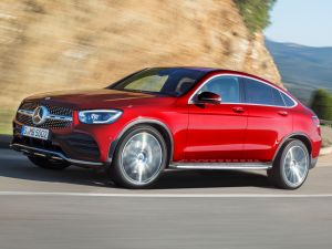 Mercedes-Benz GLC Coupe Facelift Gets More Power And Lot Of Chrome