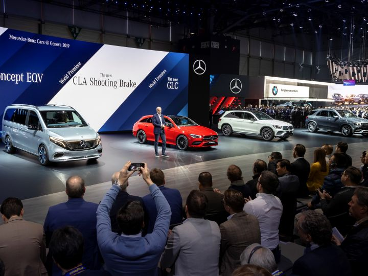 Mercedes Offers Variety At The Geneva Motor Show