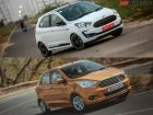 Ford Figo: What's New In The Facelift? Old vs New