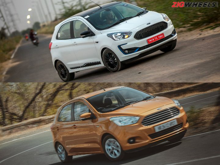 2019 Ford Figo vs Old Figo