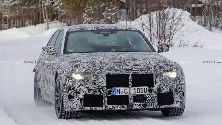 2020 BMW M3 Still Hides Behind Camouflage