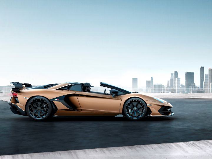 Lamborghini Aventador Svj Roadster Is As Fast As It Is Clever