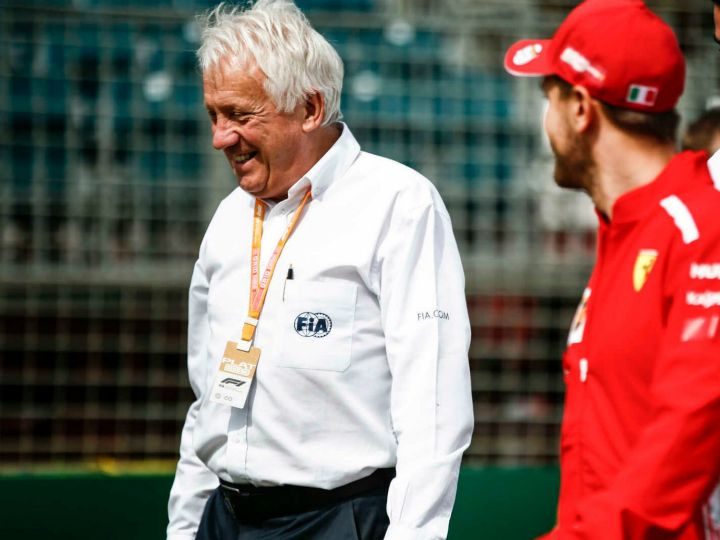 F1: FIA Director of Formula 1 Charlie Whiting dies aged 66