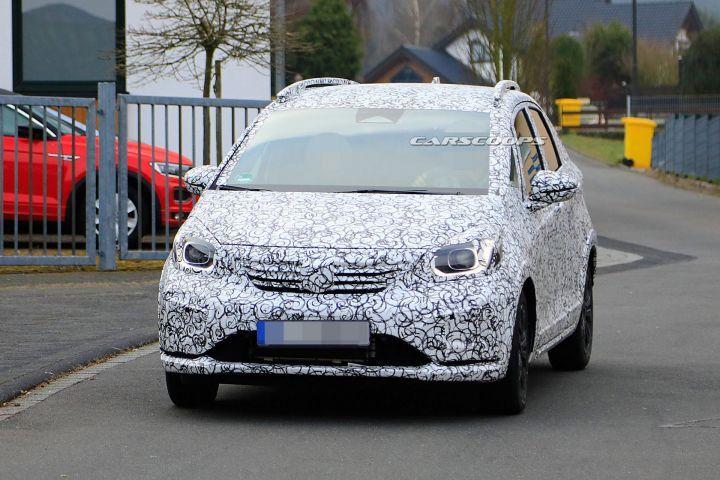 Next Generation Honda Jazz Begins Testing Looks Completely New