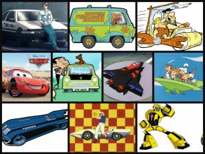 10 Most Iconic Cars From The Animated Past