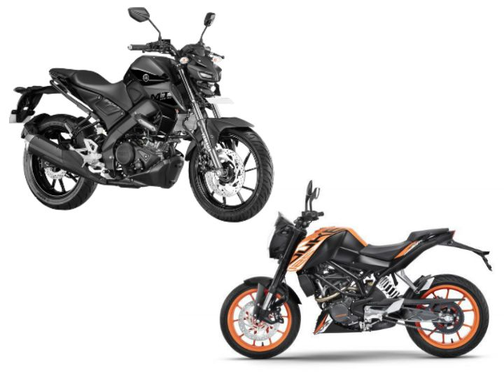 Yamaha MT-15 vs KTM 125 Duke: Spec Comparison