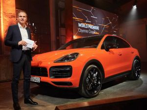 Porsche Cayenne Coupe Sets Its Sights On BMW X6 M