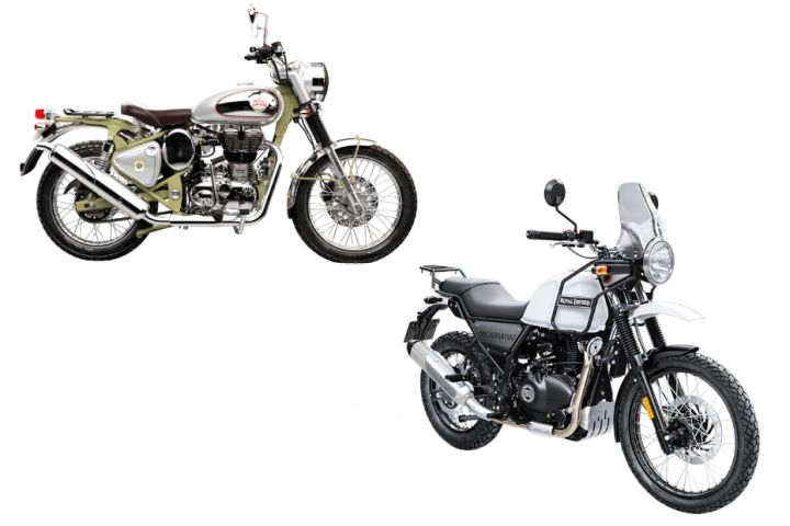 Family Feud Royal Enfield Bullet Trials 500 Vs Himalayan Zigwheels