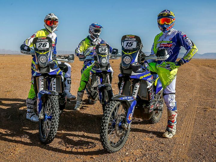 TVS-Merzouga rally rider lineup