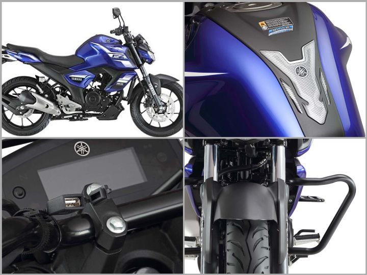 Yamaha FZ v3 accessories