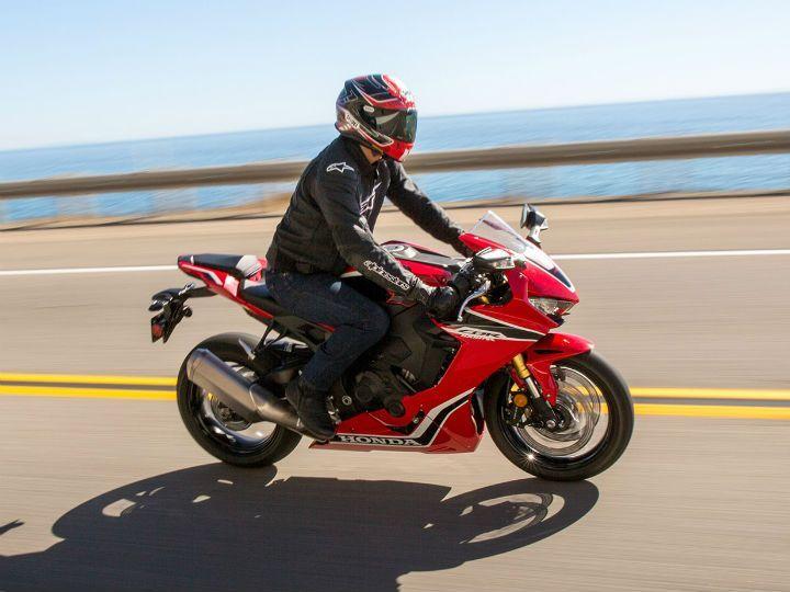 2019 Honda CBR1000RR action