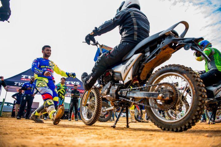 TVS Racing Off Road Training