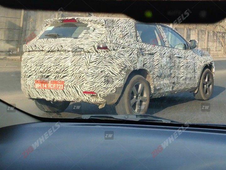 Tata Harrier 7 Seater Spied Testing Ahead Of Its Launch Zigwheels