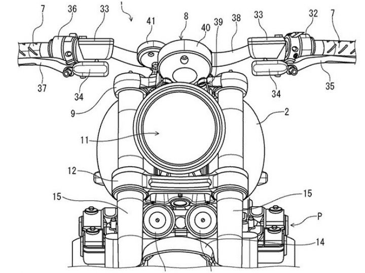 2020 Honda Cb400 Sf Patent Images Surface Online