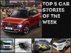Top 5 Car News Of The Week: Hyundai Venue Launch, EcoSport Thunder, Kia SP2 Interiors And More