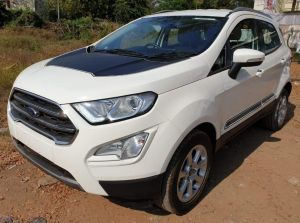 Ford EcoSport Thunder Edition Spotted; Likely To Launch Next Week!