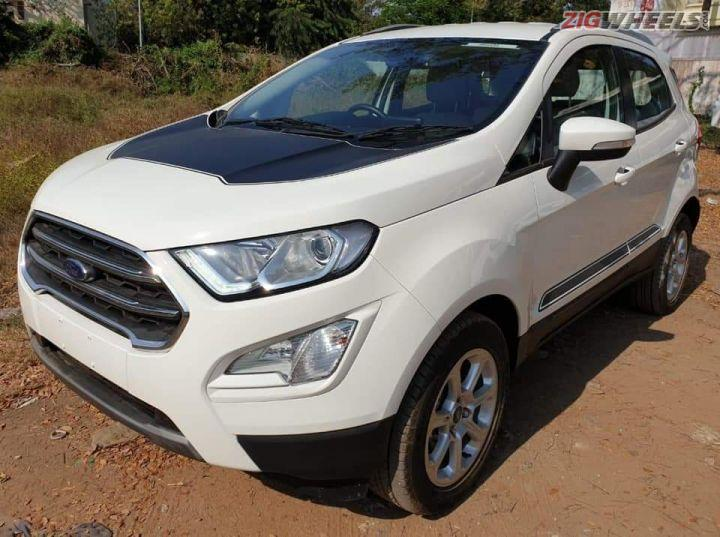 Ford Ecosport Thunder Edition Spotted Likely To Launch Next