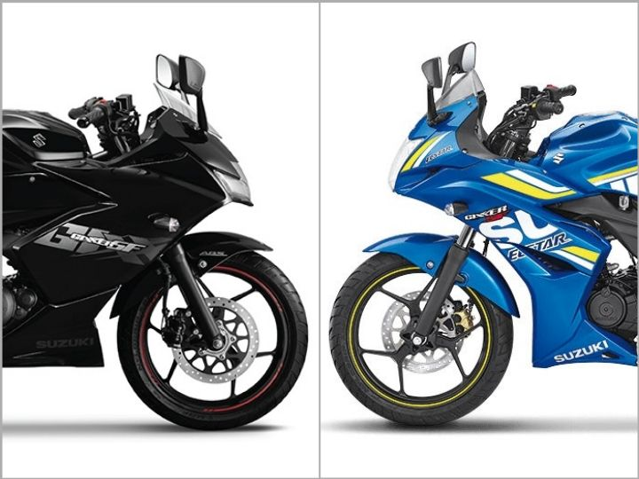 Gixxer SF old vs new