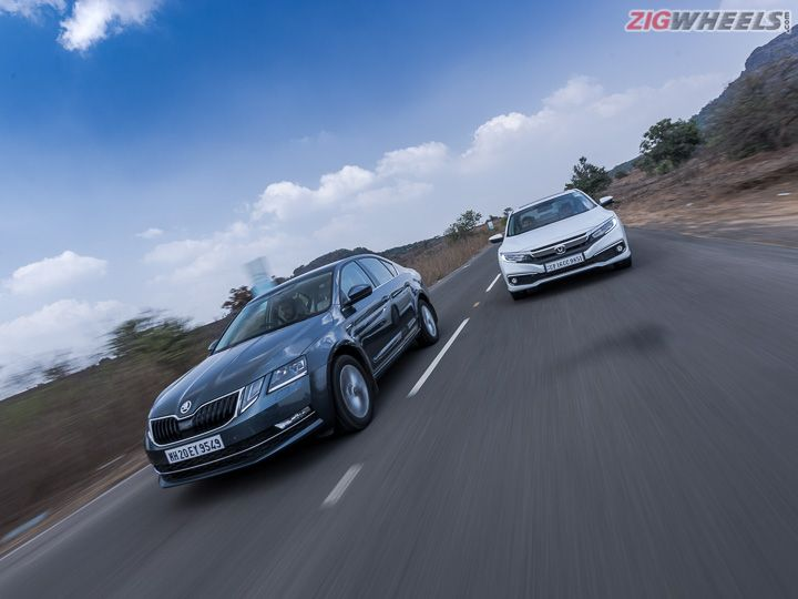 Honda Civic vs Skoda Octavia: Petrol AT Comparison Review