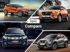 Honda HR-V vs Creta vs Kicks vs Captur: Spec Comparo