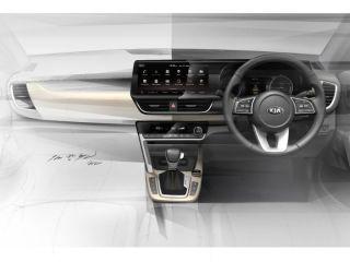Upcoming Kia SP2i Interiors Teased Ahead Of Global Unveil On June 20