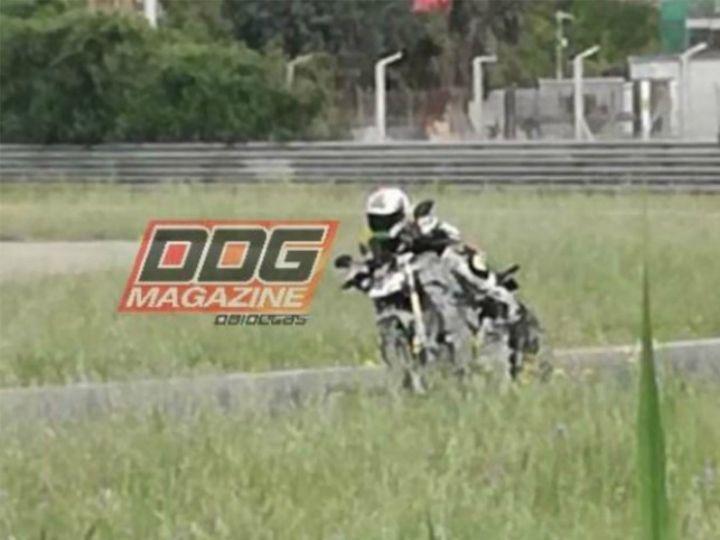 2020 Ducati Panigale V4 spy image