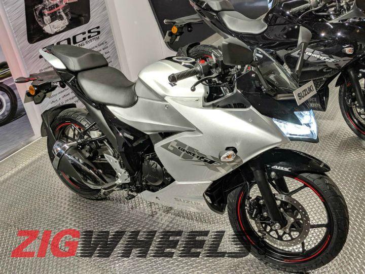 2019 Suzuki Gixxer SF 150 Image Gallery