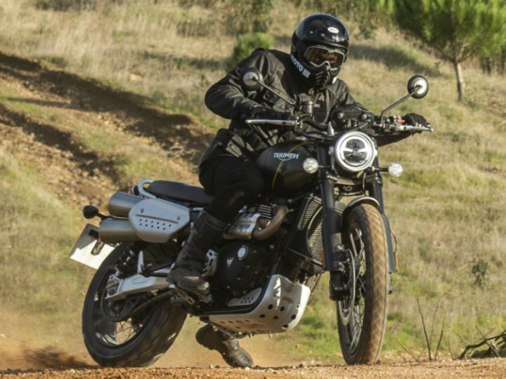 Triumph Scrambler 1200 Review image gallery