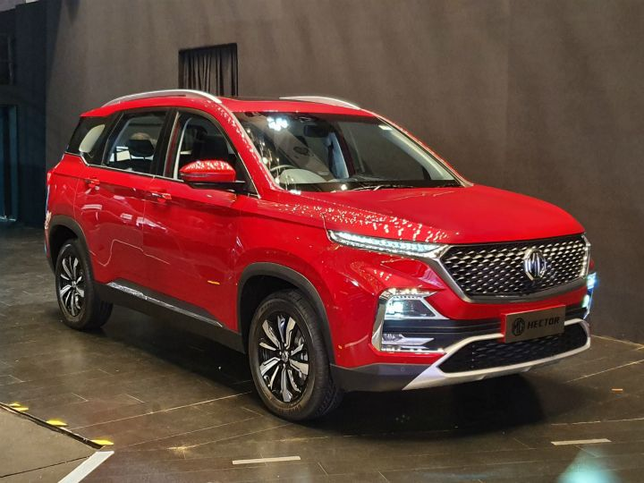 Mg Hector Unveiled Will Go Up Against Tata Harrier And Jeep Compass