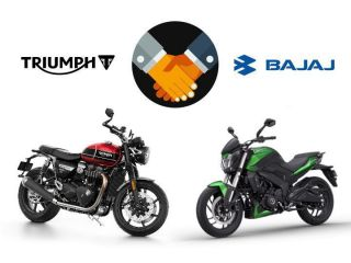 Bajaj Auto - Triumph Joint Ventures First Motorcycle To Debut In 2022
