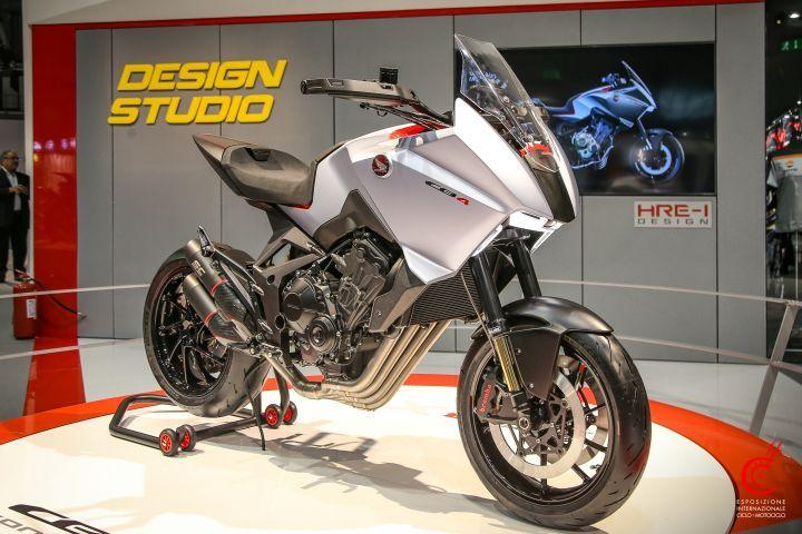 Honda CB4X Concept at EICMA