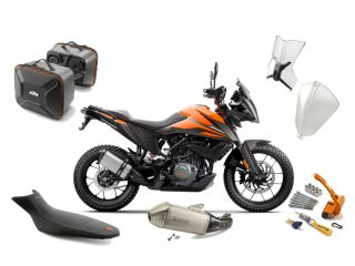 Make Your 390 Adventure Adventure-ready With These New KTM Powerparts