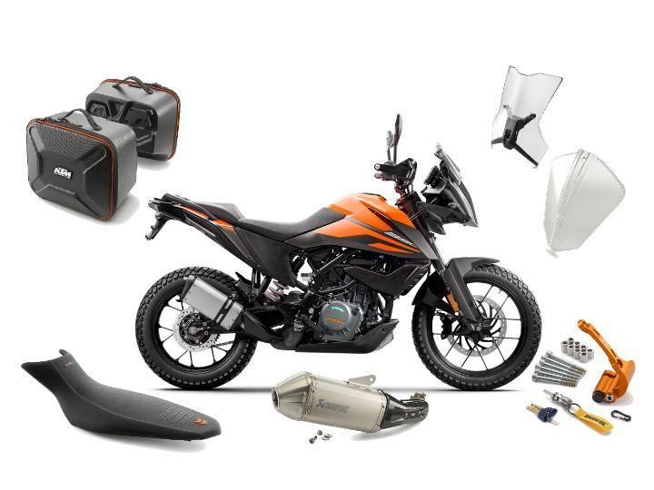 KTM Introduces Powerparts For 390 Adventure