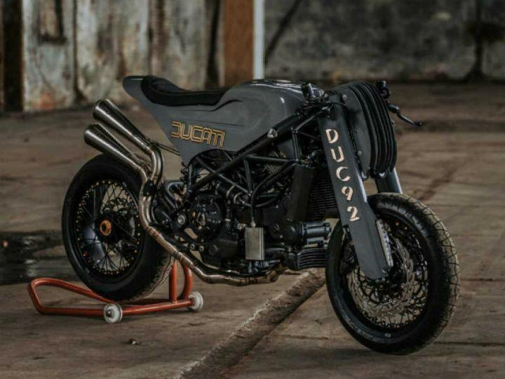 Ducati Monster S4R Custom By Adonis Worksca