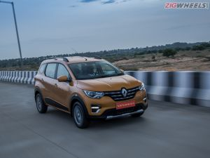 The Renault Triber Top-spec Variant Now Gets 15-inch Wheels As Standard