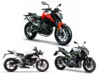 KTM 790 Duke vs Triumph Street Triple RS vs Kawasaki Z900: Real-world Numbers Compared