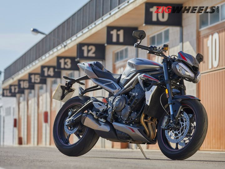 2020 Triumph Street Triple RS Review Image Gallery