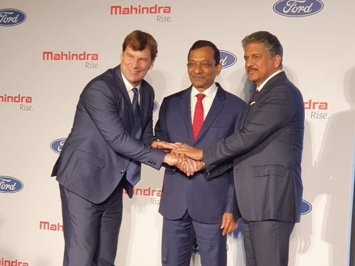 Mahindra and Ford announce new joint venture for India