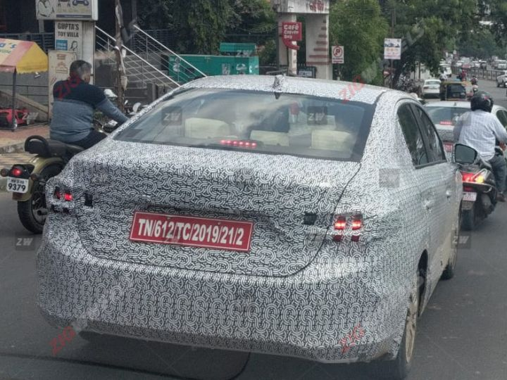 2020 Honda City Spied Testing In India Ahead Of Global