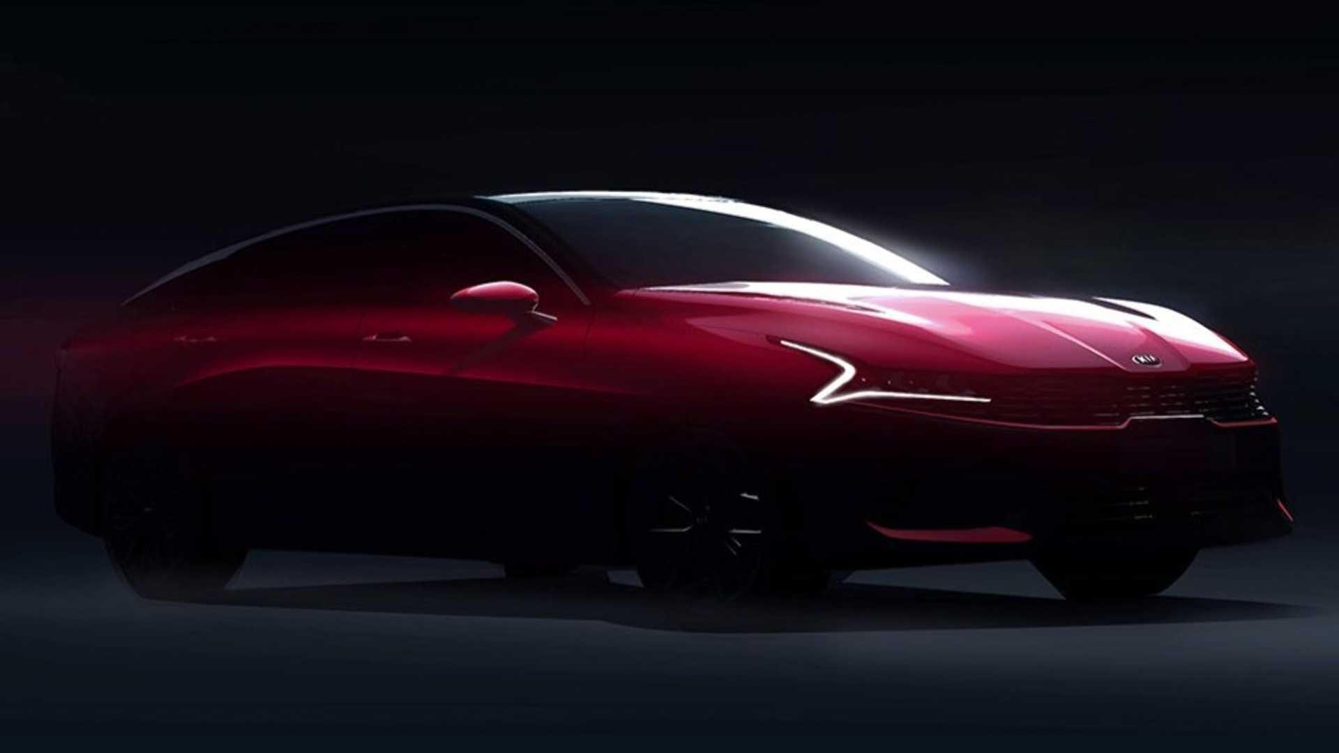 2021 Kia Optima Sedan Teased Could It Come To India Zigwheels