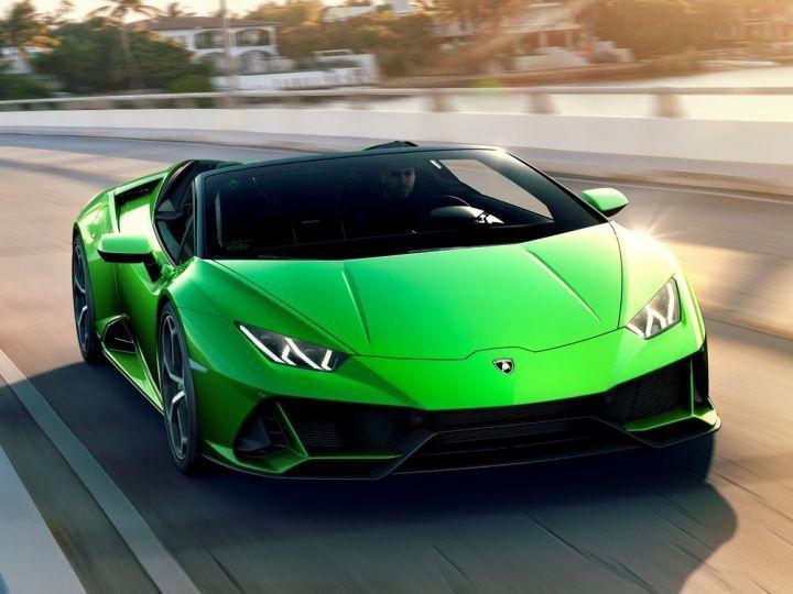 Lamborghini Huracan Evo Spyder India Showcase On