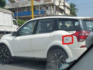 There's A New BS6 XUV500 Coming, And It's Just Been Spotted Testing