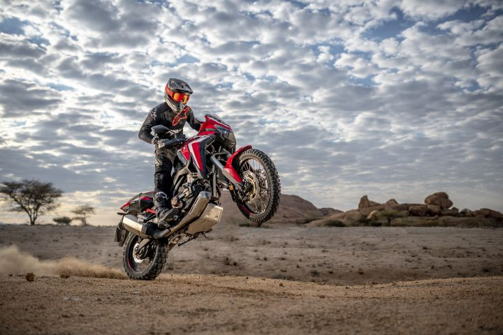 Honda CRF1100L Africa Twin Unveiled