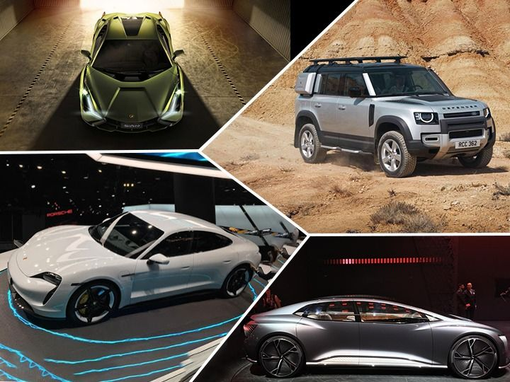 2019 Frankfurt Motor Show Collage Cars