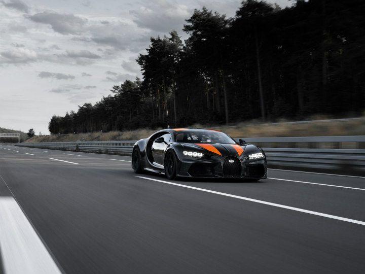Bugatti Chiron Sets World's Fastest Hypercar Record At