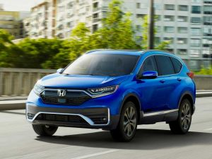 This Is The 2020 Honda CR-V With A Hybrid Powertrain